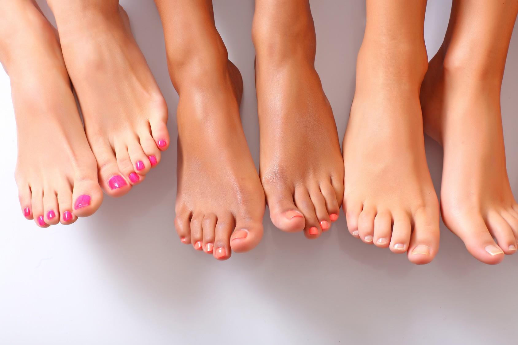 Прыщи на пальцах ног