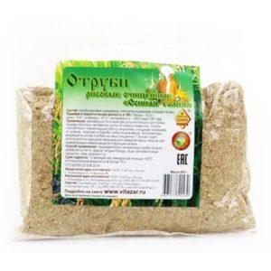 отруби рисовые