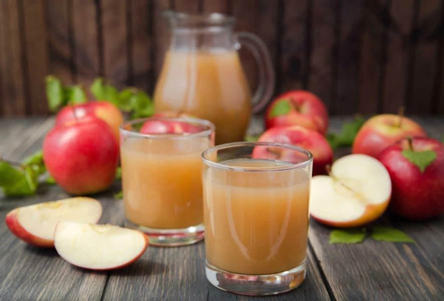 сок яблок с мякотью