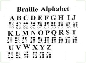 Азбука Брайля