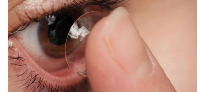 Можно ли спать в контактных линзах?