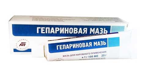 Гепариновую мазь следует применять с осторожностью