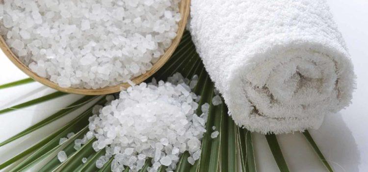 полотенце и соль