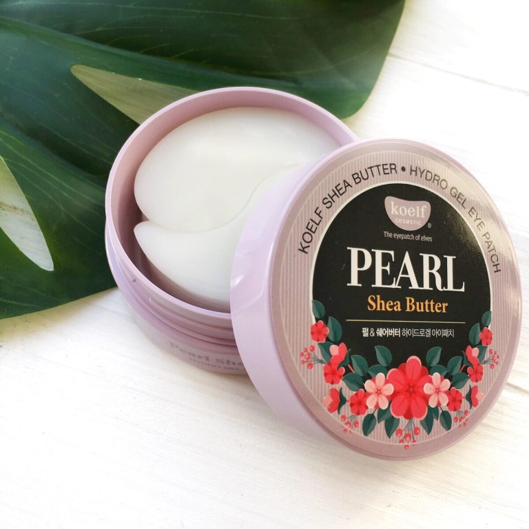 «Koelf Pearl & Shea Butter Eye Patch» патчи под глаза