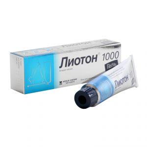 лиотон гель варикоз