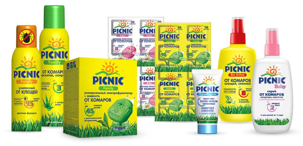 Picnic защита от комаров и мошек