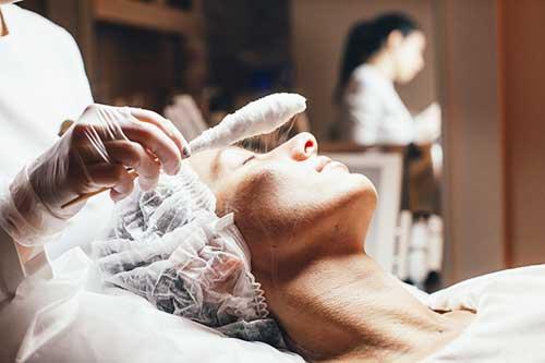 Применение жидкого азота на кожу