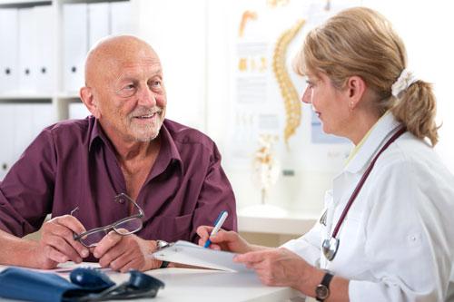 Обращение пациента к врачу-специалисту