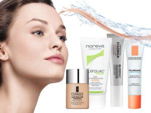 Выбираем безопасный тональный крем для проблемной кожи