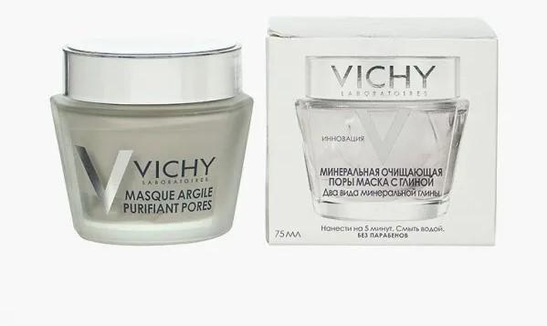 Глиняная маска от Vichy