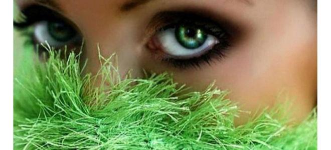 Значение зелёных глаз у мужчин и женщин