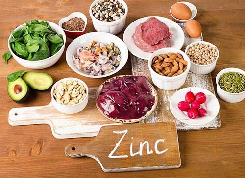 Цинк в пище, последствия недостатка в организме
